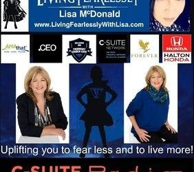 Janeen Vosper Interviewed on the Living Fearlessly Radio Program with Lisa McDonald