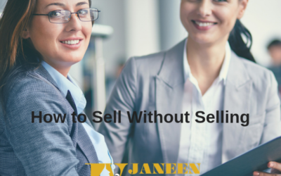 Discover How To Sell Without Selling