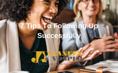 7 Tips To Following Up Successfully