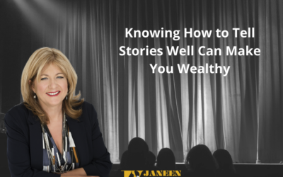 Learn Why Telling Stories Can Make You Wealthy