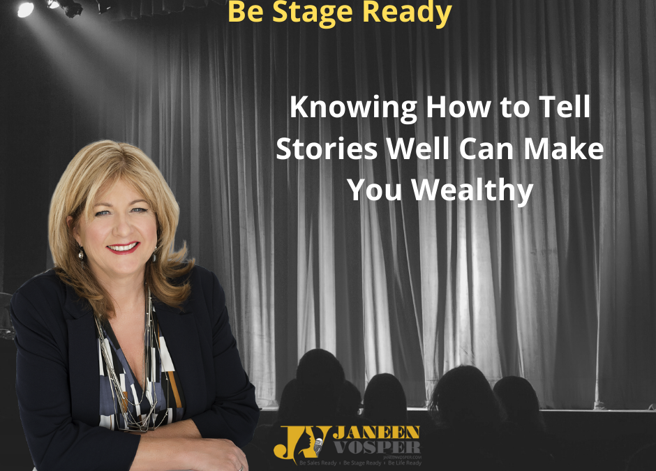 Knowing how to tell stories well can make you more money