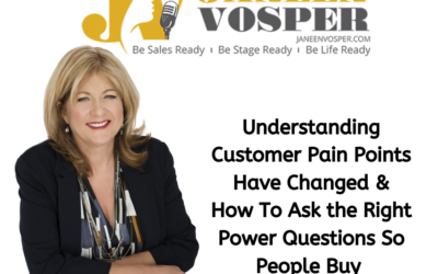 Understanding Customer Pain Points Have Changed & How To Ask the Right Power Questions So People Buy