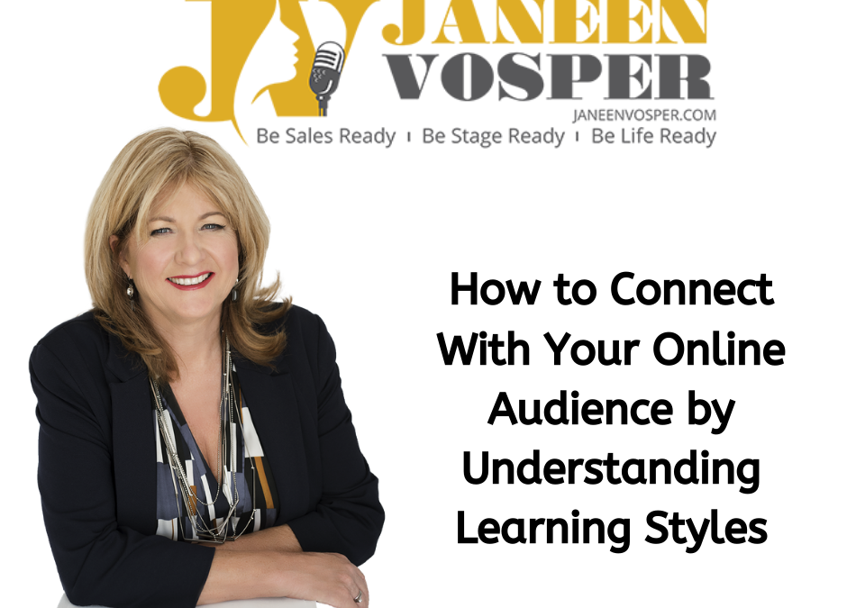 How to Connect With Your Online Audience by Understanding Learning Styles